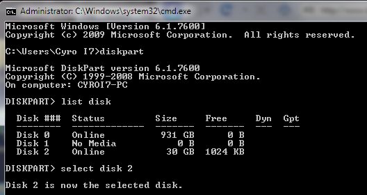 How To Make Bootable USB Drive For Windows 7, 8, 8.1, 10 Using Command Prompt - Open CMD and Diskpart Utility