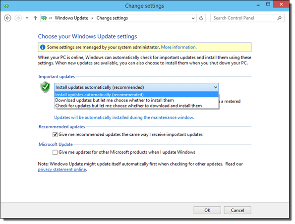 How To Disable Windows Update in Windows 10 Technical Preview - Change Windows Update Setting